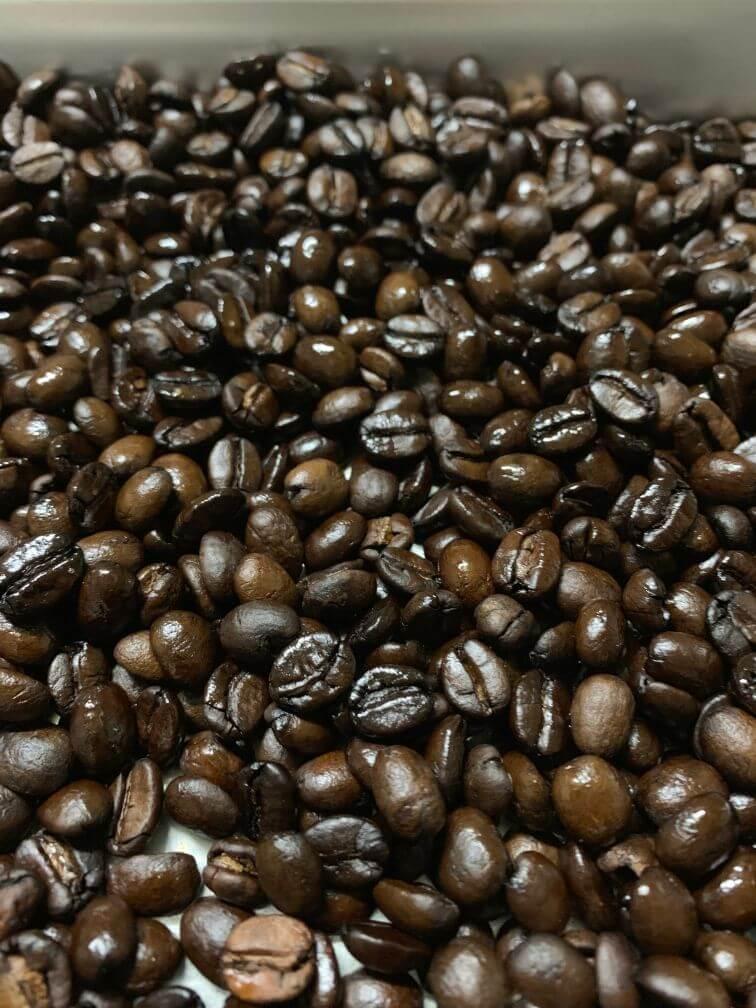 コーヒー焙煎 上手にできたやつ
