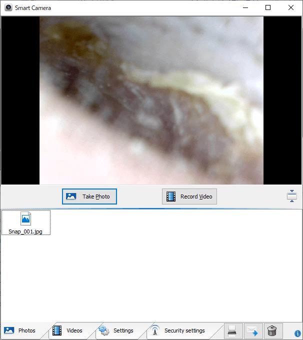 内視鏡付き耳かき 専用ソフト