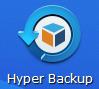 Synology DS218 バックアップ Hyper Backupのアイコン